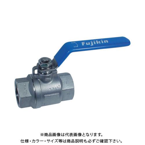 フジキン ステンレス鋼製3.92MPaフルボアタイプボール弁50A(2) UBVNF-14I-R