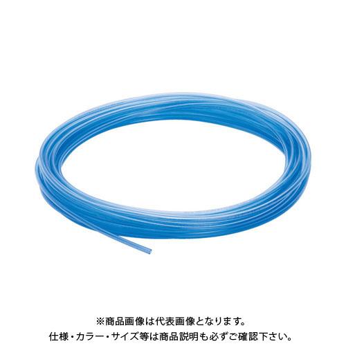 【20日限定!3エントリーでP16倍!】ピスコ ウレタンチューブ 透明青 8X5.0 100M UB0850-100-CB
