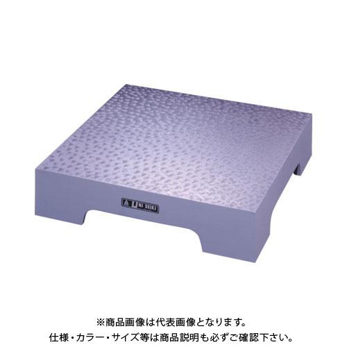 【運賃見積り】【直送品】ユニ 箱型定盤(機械仕上)450x450x75mm U-4545