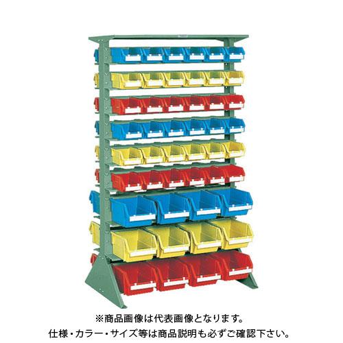 【個別送料1000円】【直送品】 TRUSCO 両面重量コンテナラック H1565 T2X72 T5X24 U-1536W