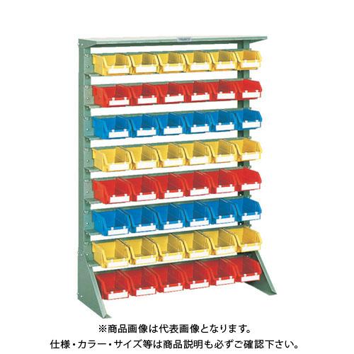 【個別送料1000円】【直送品】 TRUSCO 重量コンテナラック H1265 T2X48 U-1208