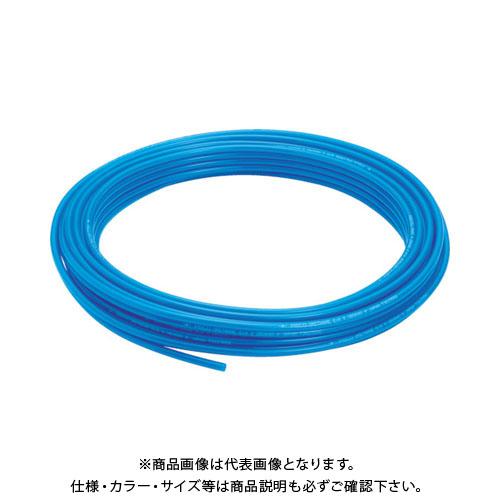 ピスコ ポリウレタンチューブ ブルー 12×8 100M UB1280-100-BU