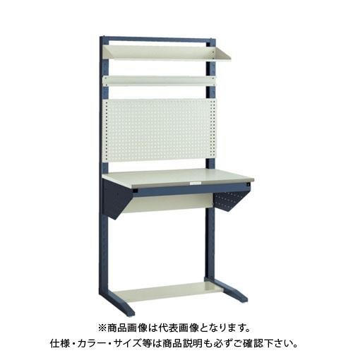 【運賃見積り】【直送品】 TRUSCO ライン作業台 片面 パネル・棚板型 W900 ULRT-900B