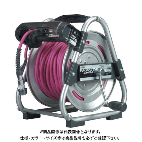 ハタヤ ナラシマキエヤーリール 30m φ8.5 ソフトポリウレタンホース UDN-303