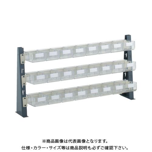TRUSCO UPR型ライトビンラック卓上用 HT-1X24個 UPR-ML1803
