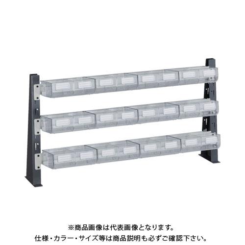 TRUSCO UPR型ライトビンラック卓上用 B-PX12個 UPR-ML1803L