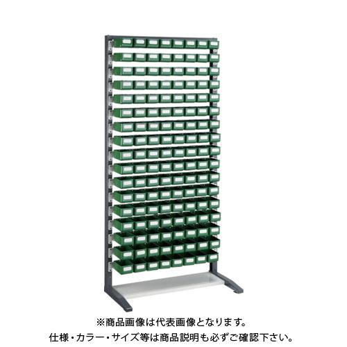 【個別送料1000円】【直送品】 TRUSCO UPR型ライトビンラック K-10HX136個 UPR-L1817K