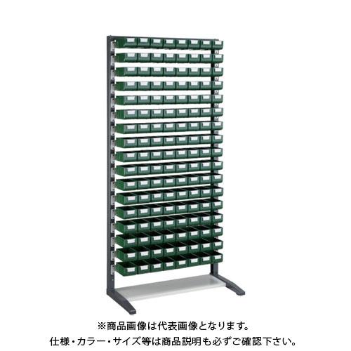 【個別送料1000円】【直送品】 TRUSCO UPR型ライトビンラック K-10GX136個 UPR-L1817G