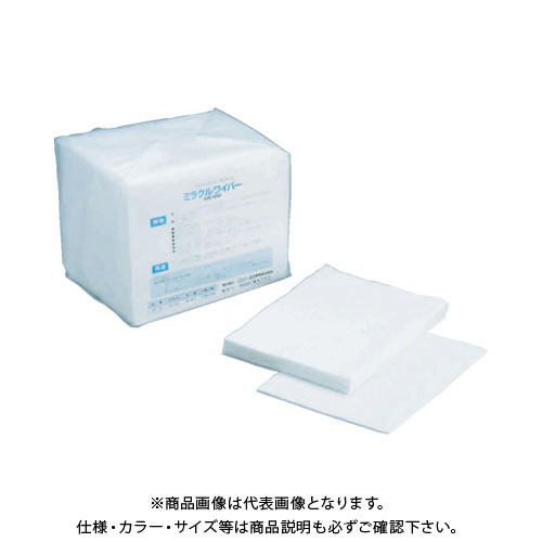 橋本 ミラクルワイパー 4ツ折 中厚手 300×400mm 100枚×6袋/箱 US100
