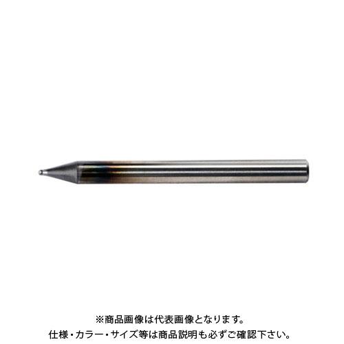 ユニオンツール 超硬エンドミル ボール R0.5×刃長0.7×φ4 UDCB2010-0070