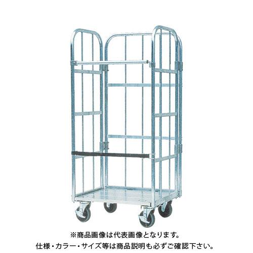 【直送品】 ナカオ アルミ製台車「運ぱん君」 UK-1