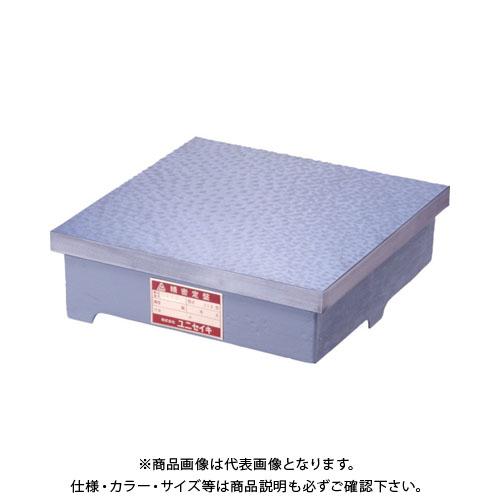【運賃見積り】【直送品】 ユニ 精密検査用定盤(JIS型) 1級 500x500mm UKJ1-5050