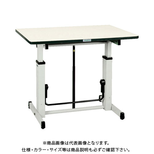 【直送品】 TRUSCO アップダウン作業台 900X600XH730-980 UP-900