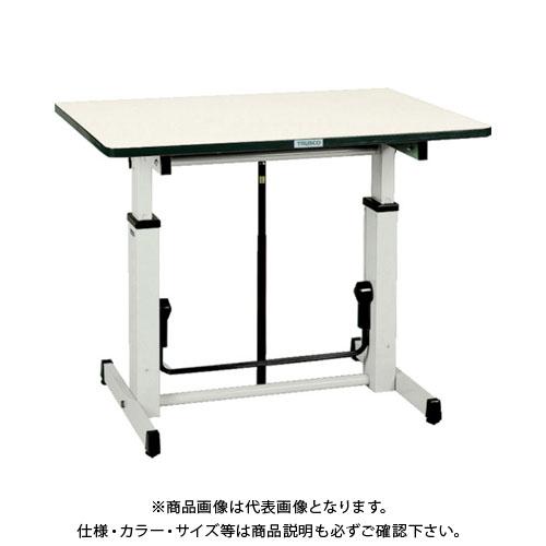 【直送品】 TRUSCO アップダウン作業台 1050X750XH730-980 UP-1050
