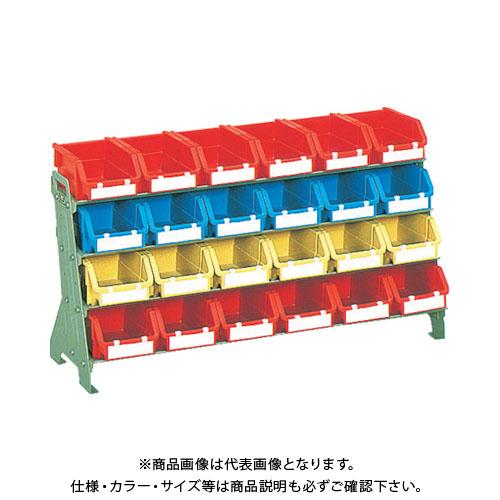 【個別送料1000円】【直送品】 TRUSCO 片面卓上型コンテナラック H405 T2X24 UJ-604