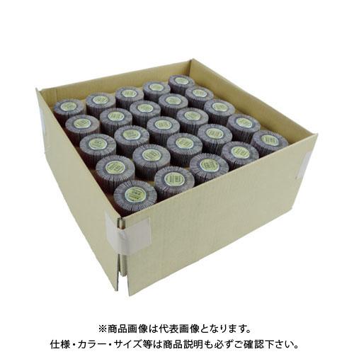 TRUSCO まとめ買い フラップホイル40×25×軸径6 80# (50個入) UF4025-80-50P