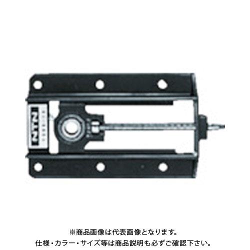NTN 軸受ユニット溝形鋼製フレーム(円筒穴形止めねじ式)軸径40mm全長870mm全高190mm UCM208-50D1