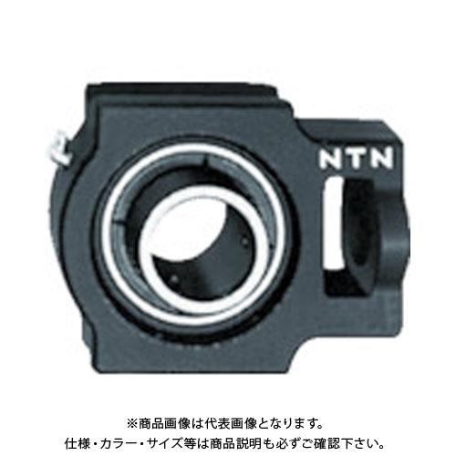 【運賃見積り】【直送品】NTN G ベアリングユニット(円筒穴形、止めねじ式)内輪径110mm全長385mm全高320mm UCT322D1