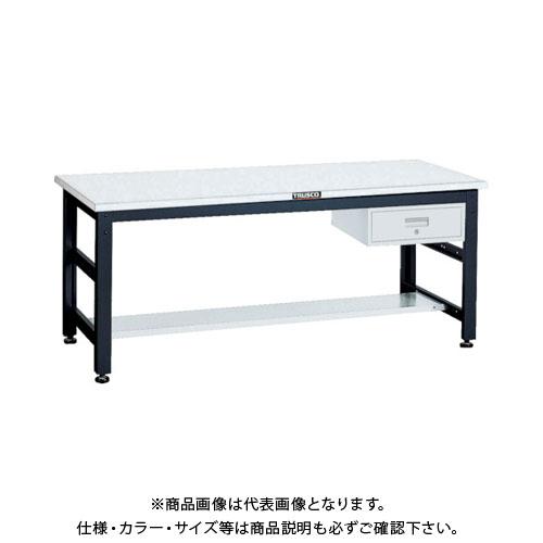 【直送品】 TRUSCO UTR型作業台 1800X750XH740 1段引出付 UTR-1875F1