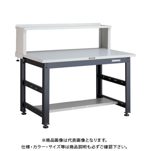 【直送品】 TRUSCO UTM型作業台 900X750XH740 上棚付 UTM-0975YURB