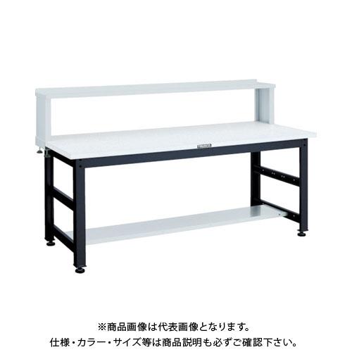 【直送品】 TRUSCO UTM型作業台 1800X900XH740 上棚付 UTM-1890YURB