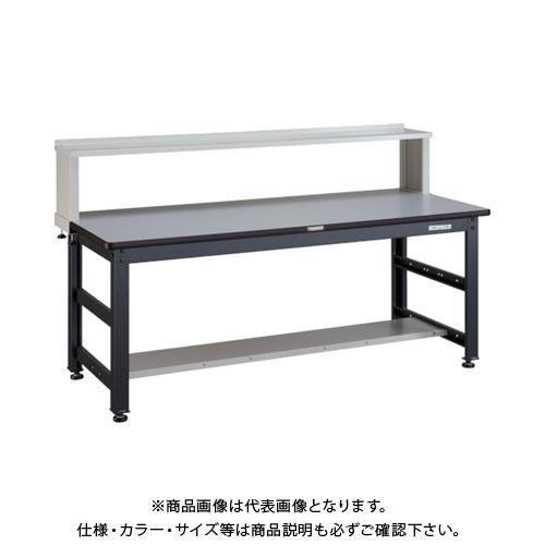 【直送品】 TRUSCO UTR型作業台 1800X750XH740 上棚付 UTR-1875YURB