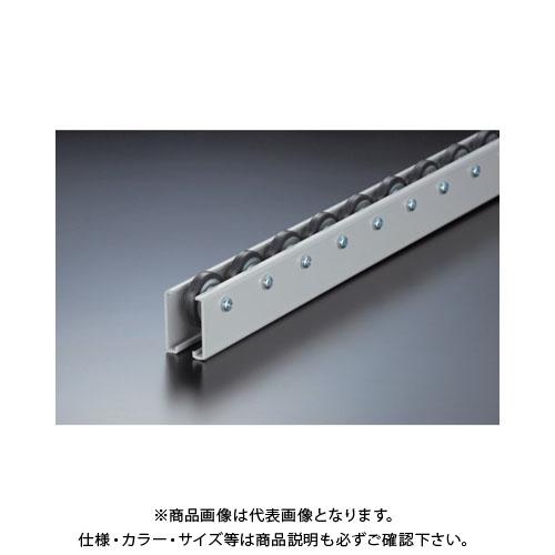 【運賃見積り】【直送品】 TRUSCO ホイールコンベヤ ゴムライニングΦ40X9 P50X1800 V-40G-50-1800
