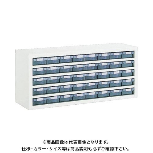 【個別送料1000円】【直送品】 TRUSCO 引出しユニット 1037X307XH444 A1X40 W VA-85BN