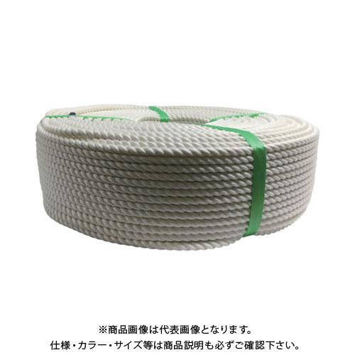 ユタカメイク ロープ クレモナロープ巻物 8φ×200m V8-200