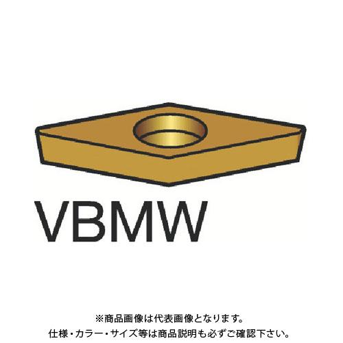 サンドビック コロターン107 旋削用ポジ・チップ H13A 10個 VBMW 16 04 04:H13A
