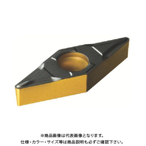 サンドビック コロターン107 旋削用ポジ・チップ 4325 10個 VBMT 11 03 04-PF:4325