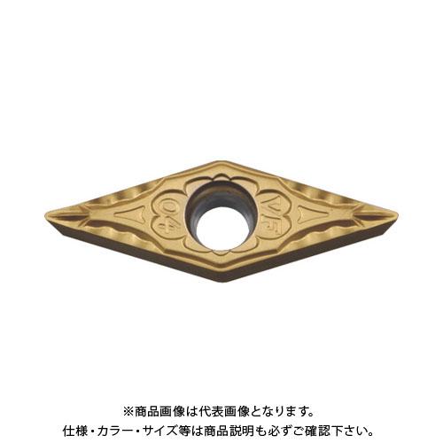京セラ 旋削用チップ PVDサーメット PV7010 10個 VBMT160404VF:PV7010