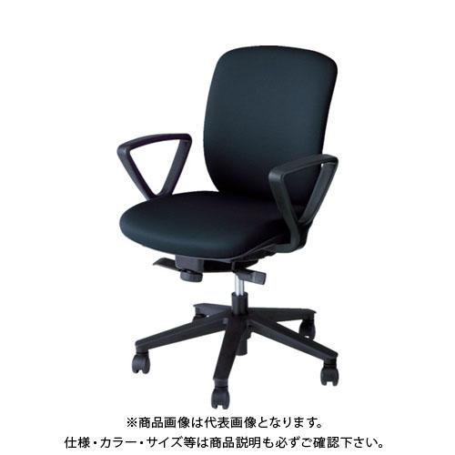 【運賃見積り】【直送品】 ナイキ ナイキ事務用チェアー VE511F-BK