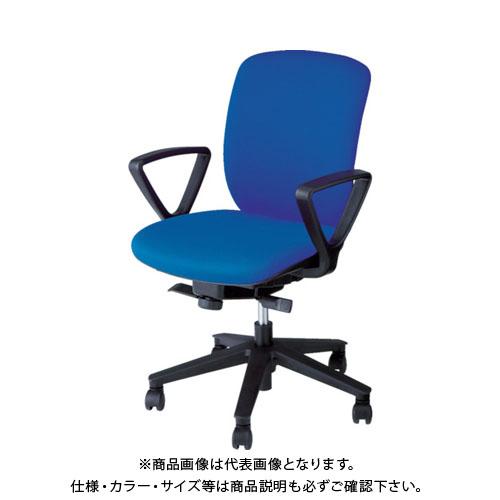 【運賃見積り】【直送品】 ナイキ ナイキ事務用チェアー VE511F-BL