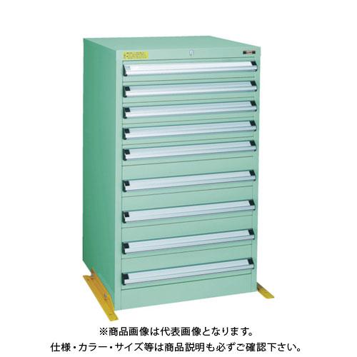 【運賃見積り】【直送品】 TRUSCO VE6S型キャビネット 転倒防止金具付 600X550 VE6S-1006TK