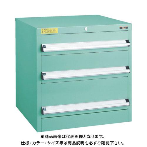 【運賃見積り】【直送品】 TRUSCO VE6S型キャビネット 600X550XH600 引出3段 VE6S-603