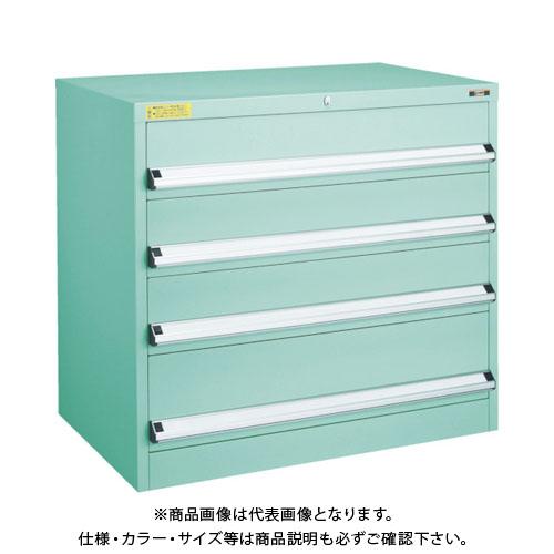 【運賃見積り】【直送品】 TRUSCO VE9S型キャビネット 880X550XH880 引出4段 VE9S-804