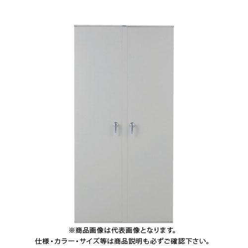 【個別送料1000円】【直送品】 TRUSCO スチール両開扉 H1800用 ネオグレー VD-60:NG