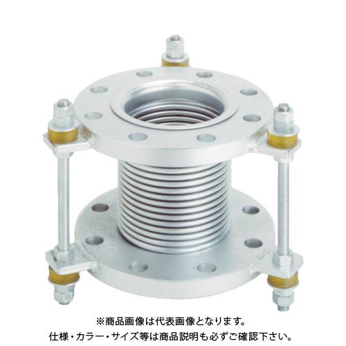 トーフレ フランジ無溶接型防振継手 10K SS400 50AX150L VJ10K-50-150