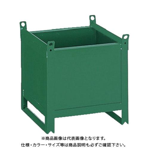 【直送品】TRUSCO ミニカーゴ 鉄板張型 600X600XH600 VJ-603