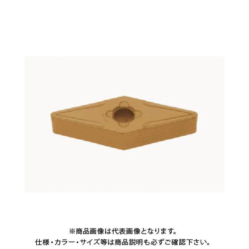 タンガロイ 旋削用M級ネガTACチップ COAT 10個 VNMG160408-33:T9115