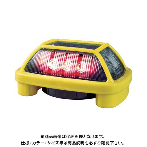NIKKEI ニコハザードFAB VK16H型 LED警告灯 赤 VK16H-004F3R