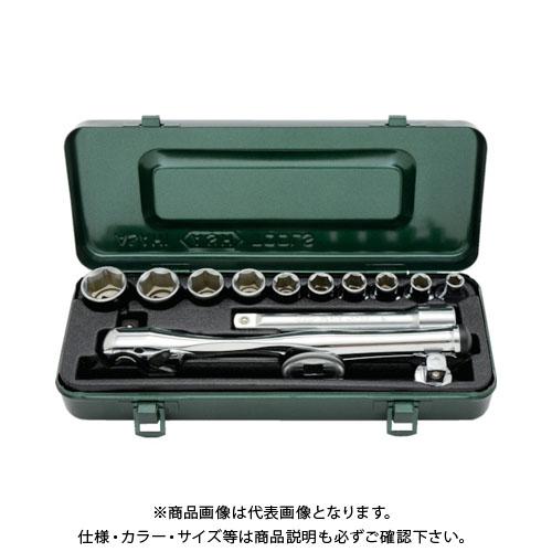 ASH レボウェイブ6角ソケットレンチセット12.7□×14PCS VJS4201
