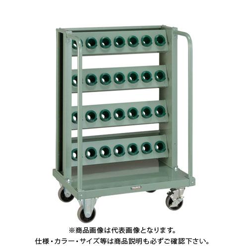 【運賃見積り】【直送品】 TRUSCO ツーリングワゴン BT・NT40兼用 4段 28個収納 ロック付 VTLW-47