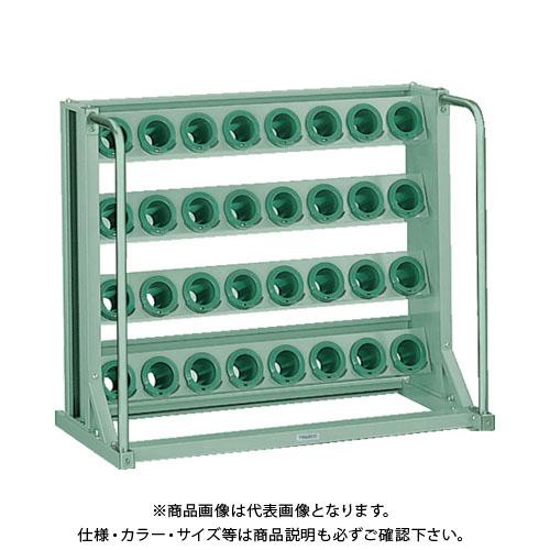 【運賃見積り】【直送品】 TRUSCO ツーリングラック BT・NT50兼用 32個収納 ロック付 VTL-48