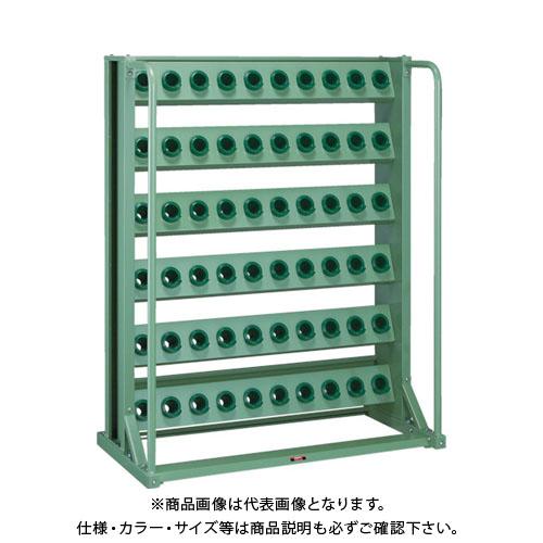 【運賃見積り】【直送品】 TRUSCO ツーリングラック BT・NT40兼用 60個収納 ロック付 VTL-610