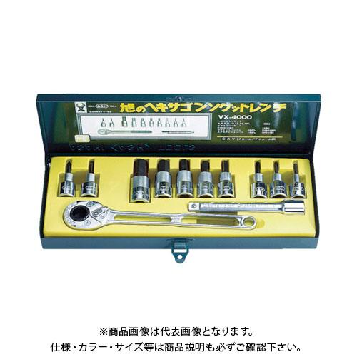 ASH ソケットレンチ用ヘキサゴンソケットセット12.7□ VX4000