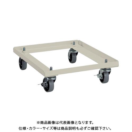 【運賃見積り】【直送品】 TRUSCO VR型キャビネット W393用キャスターベース ネオグレー VR-CS:NG