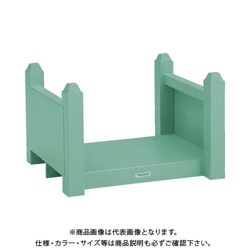 【直送品】 TRUSCO 積み重ね式長尺保管棚 750X650X500 VRB-6050