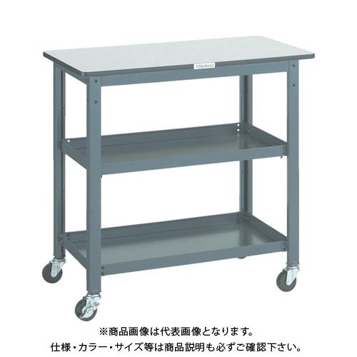 【直送品】 TRUSCO WHT型作業台補助テーブルワゴン 900X450XH900 WHT-4590H